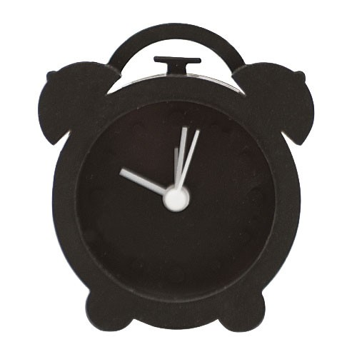 Часы-будильник Just in time (черные)