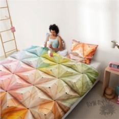 Постельный комплект Оригами