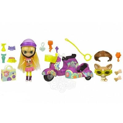Игровой набор Littlest Pet Shop Блайс на скутере