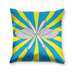 Подушка с 3D принтом Флаг ВВС