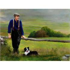 Портрет для работника сельского хозяйства