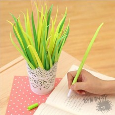 Светло-зеленая ручка Травинка