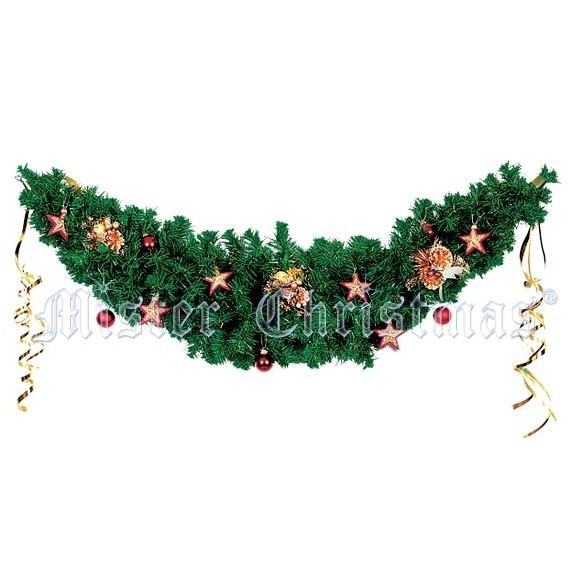 Гирлянда из хвои Mister Christmas