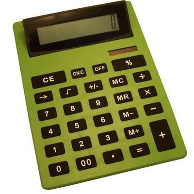 Калькулятор очень большой зеленый