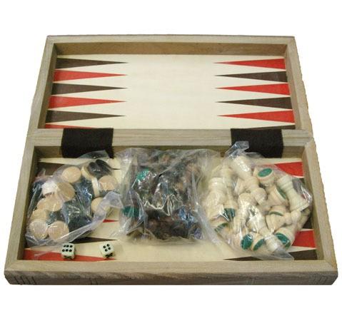 Игровой набор - шашки шахматы нарды