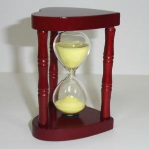 Песочные часы Золотое сердце (3 мин.)