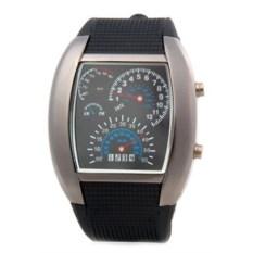 LED часы-cпидометр