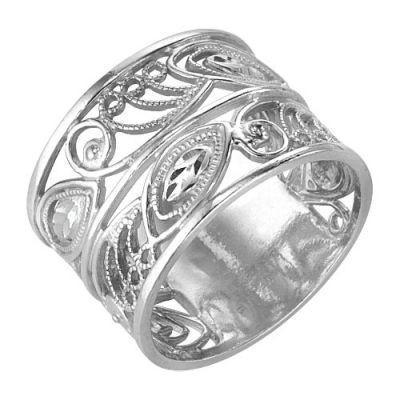 Кольцо серебряное