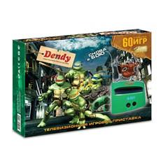 Игровая приставка Dendy Turtles + 60 игр