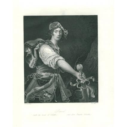Гравюра «Победа Давида»