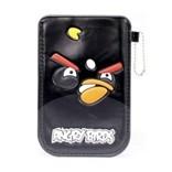 Черный чехол для iPhone Angry birds