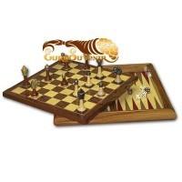 Шахматы в подарочном футляре Мат Легаля