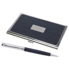 Набор ручка и визитница Pierre Cardin