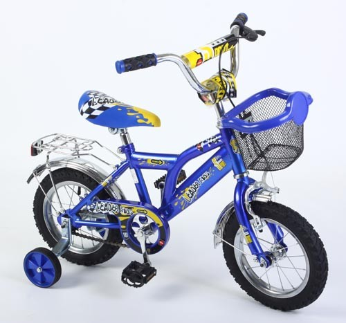 Велосипед Leader Kids G12BA112, цвет: синий