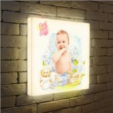Детский ночник с фото на заказ