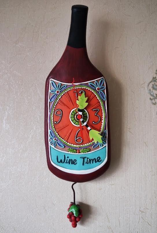 "Часы ""Время для вина"""