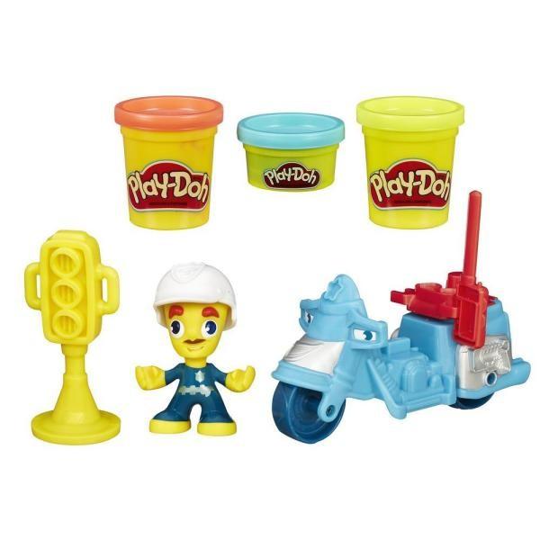 Игровой набор с пластилином Play-Doh Транспортные средства