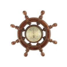 Сувенирный барометр Штурвал , размер: 45x45x4 см