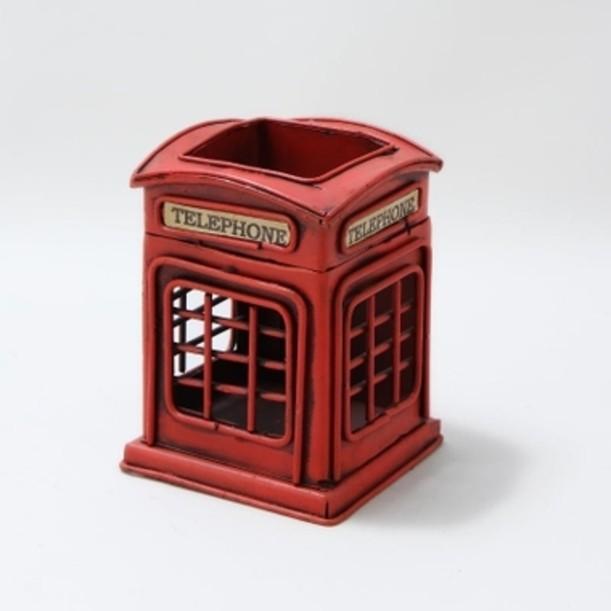 Стакан для карандашей Телефонная будка
