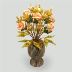 Цветы из опала Счастливые дни