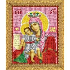 Набор для вышивания бисером Богородица Достойно Есть