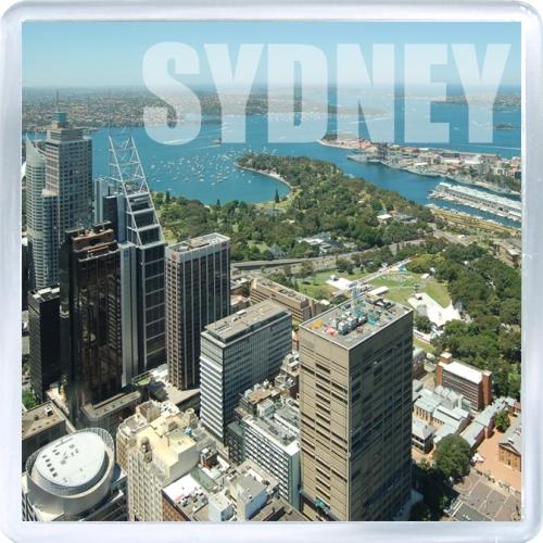 Магнит: Австралия. Сидней с высоты птичьего полета