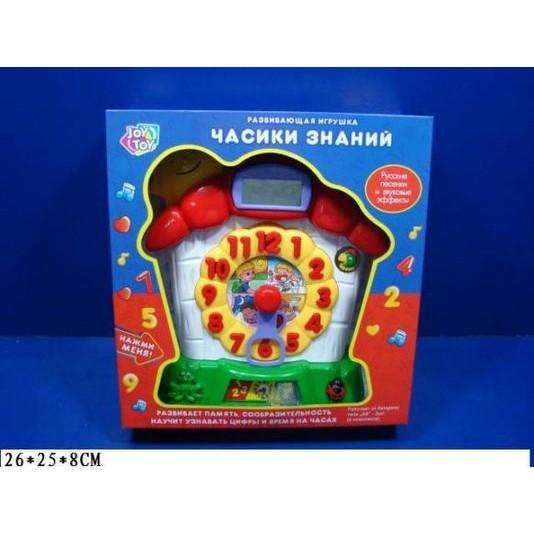 Детская развивающая игрушка Часики знаний