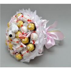 Букет из конфет Голубки