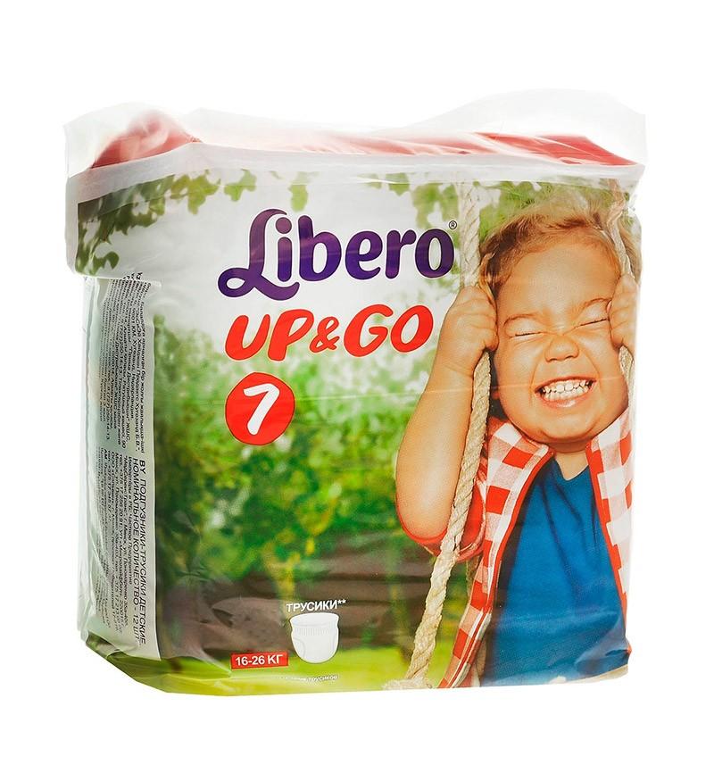 Трусики-подгузники Libero Up&Go XL+ (16-26 кг) 24 шт.