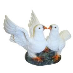 Декоративная садовая фигура Два голубя