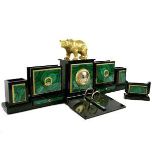 Письменный набор «Медведь»