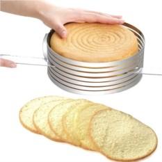 Форма-слайсер для нарезки коржей Cake Slicer