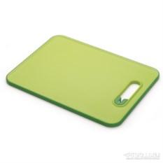 Зеленая разделочная доска с ножеточкой Slice&sharpen
