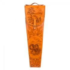 Шампура подарочные в колчане из кожи Архар