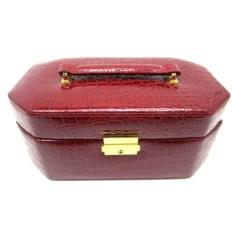 Красная шкатулка для ювелирных украшений Valise