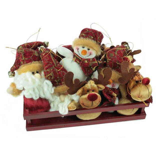 Набор новогодних сувениров «Весёлые друзья»