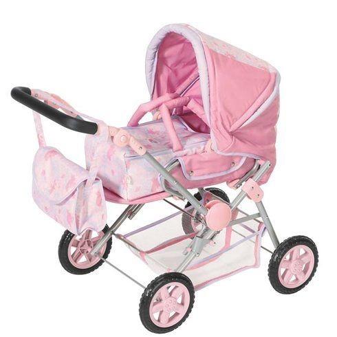 Зимняя коляска для куклы Baby Born с переноской
