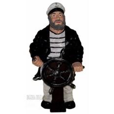 Напольная фигура Капитан за штурвалом (высота 70 см)