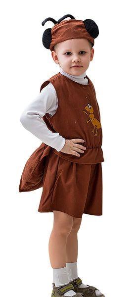 Карнавальный костюм Муравей, 6-10 лет