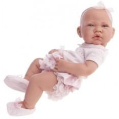 Кукла-младенец Эми в розовом