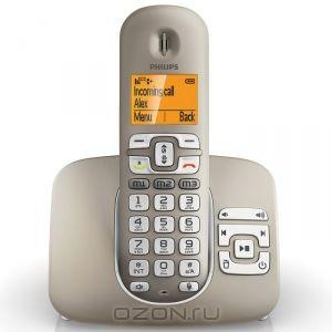 Телефон Philips XL3951, Silver