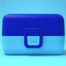 Синий ланч-бокс MB Tresor