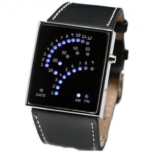 Наручные бинарные часы Lines