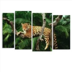 Модульная картина Джунгли