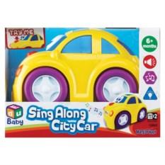 Веселая игрушечная машинка с мелодией и сигналом Keenway