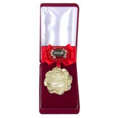 Медаль с бантом и брошью Любимой жене за веру и верность