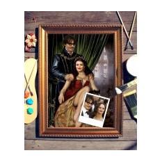 Парный портрет по фото Молодая пара