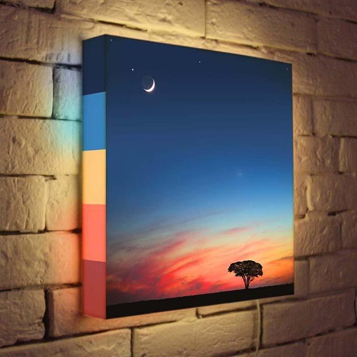 Дизайнерский ночник «Сказочный закат»