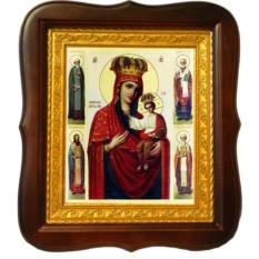 Черниговская (Ильинская) икона Божьей Матери.