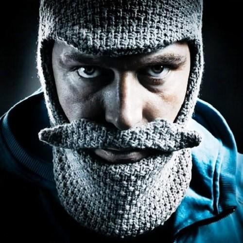 шапка с бородой скандинавка шапки купить в подаркиру